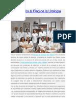 Bienvenidos al Blog de la Urología