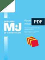 Programa Electoral Cataluña 2012 1