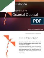 Guía de instalación Quantal Quetzal