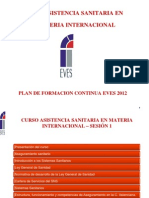 Curso Materia Internacional 2012 Clase 1 Maestro 2003