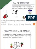 LA MATERIA, ESTADOS Y PROPIEDADES 6°
