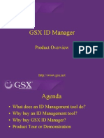 GSX ID Manager Demonstration
