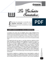 Exclusion Semántica