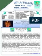 Boletin Rotary N°20 Octubre 2012