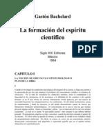 Bachelard, Gastón - La formación del espíritu científico