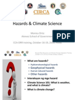 2 Hazards Climate Science