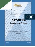 El Modelo Pedagogico y La Practica Docente Avances Angelica Rodriguez