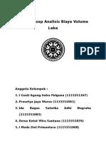 Peta Konsep Analisis Biaya Volume Laba