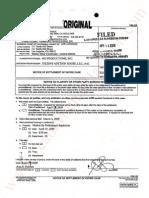 MJ V Darren Julien - Settlement-Sealed