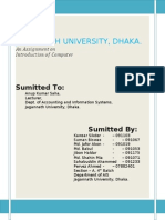 Computer Assignment on Computerization in Bangladesh