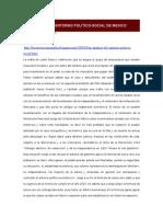 Un Analisis Del Entorno Politico-social de Mexico