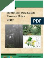 2007 Identifikasi Desa Dalam Kawasan Hutan 2007