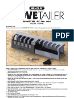 860 Dovetailer Manual