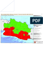 3. Peta Index Tsunami Jabar 2011