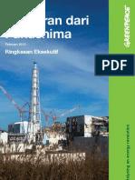 Pelajaran Dari Fukushima