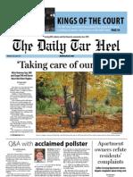 The Daily Tar Heel for November 12, 2012