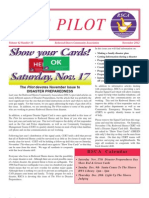 The Pilot -- November 2012 Issue