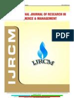Ijrcm 1 Vol 3 Issue 9 Art 11