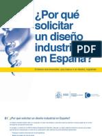 ¿Por qué solicitar un Diseño Industrial en España?