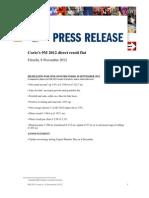 PR 9M 2012 Corio