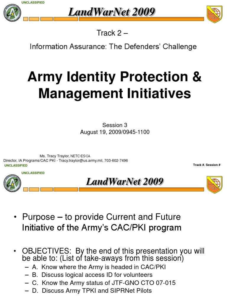 Army pki slides on cac cards public key certificate smart card xflitez Gallery