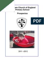Marcham Primary School Prospectus 2011-12