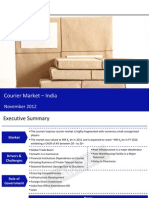 Market Research Report :Courier Market in India 2012
