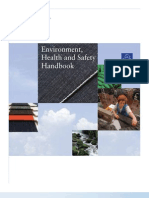 Environment, Health and Safety Supplement to the TOE Guidebook - English