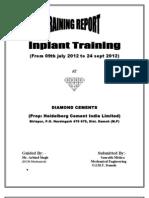 Saurabh Mishra Training Report