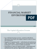 Financial Market Environment