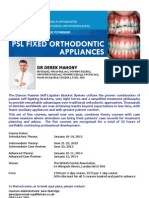 Damon orthodontics flyer