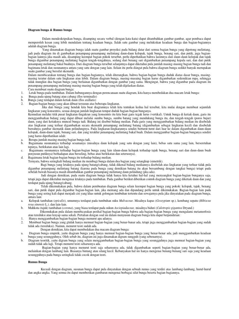 Diagram bunga ccuart Image collections
