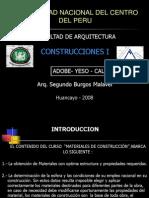 Adobe Yeso Cal-2008