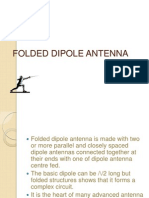 folded dipole anteena