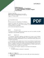 DTC agreement between Uzbekistan and Switzerland