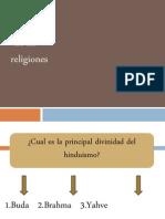 Juego Las Religiones