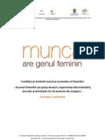 Condiția și statutul social și economic al femeilor
