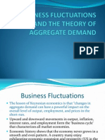 Business Fluctuations and the Theory of Aggregate Demand