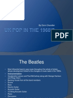 Uk Pop in the 1960's