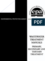 Epa Water Treatment Manual Primary Secondary Tertiary1