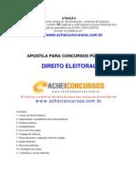 Apostila de Direito Eleitoral para Concursos