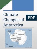 Antarctic Desert Climate Changes