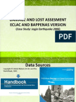 Damage and Lost Assesment Eclac and Bappenas Version