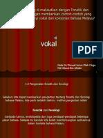 Fonetik Dan Fonologi Vokal