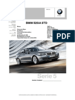 Especificación New 520i Std