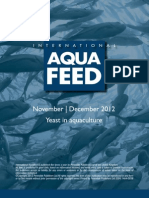 Yeast in aquaculture