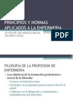 Principios y Normas Aplicados a La Enfermeria