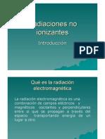 Radiaciones No Ionizantes