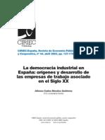 Democracia Industrial en España