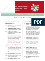 Conference 2012 Final Programme Copy